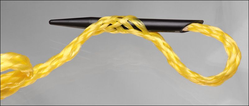 how to end splice braided rope
