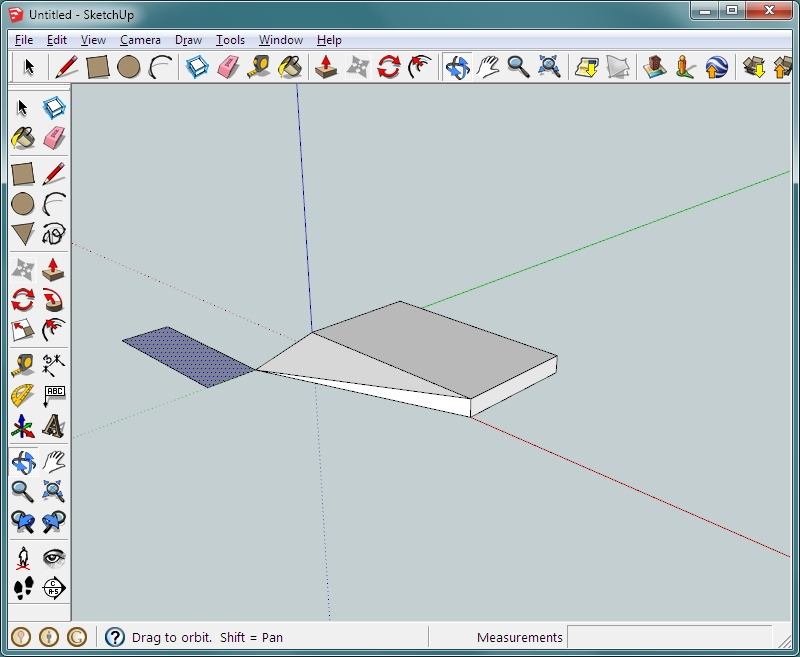 Sketchup Basics - An Introduction to Google's Sketchup - Part 1