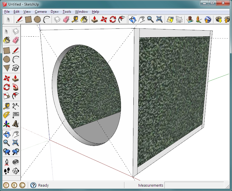 Sketchup basics an introduction to google 39 s sketchup for Mirror in sketchup